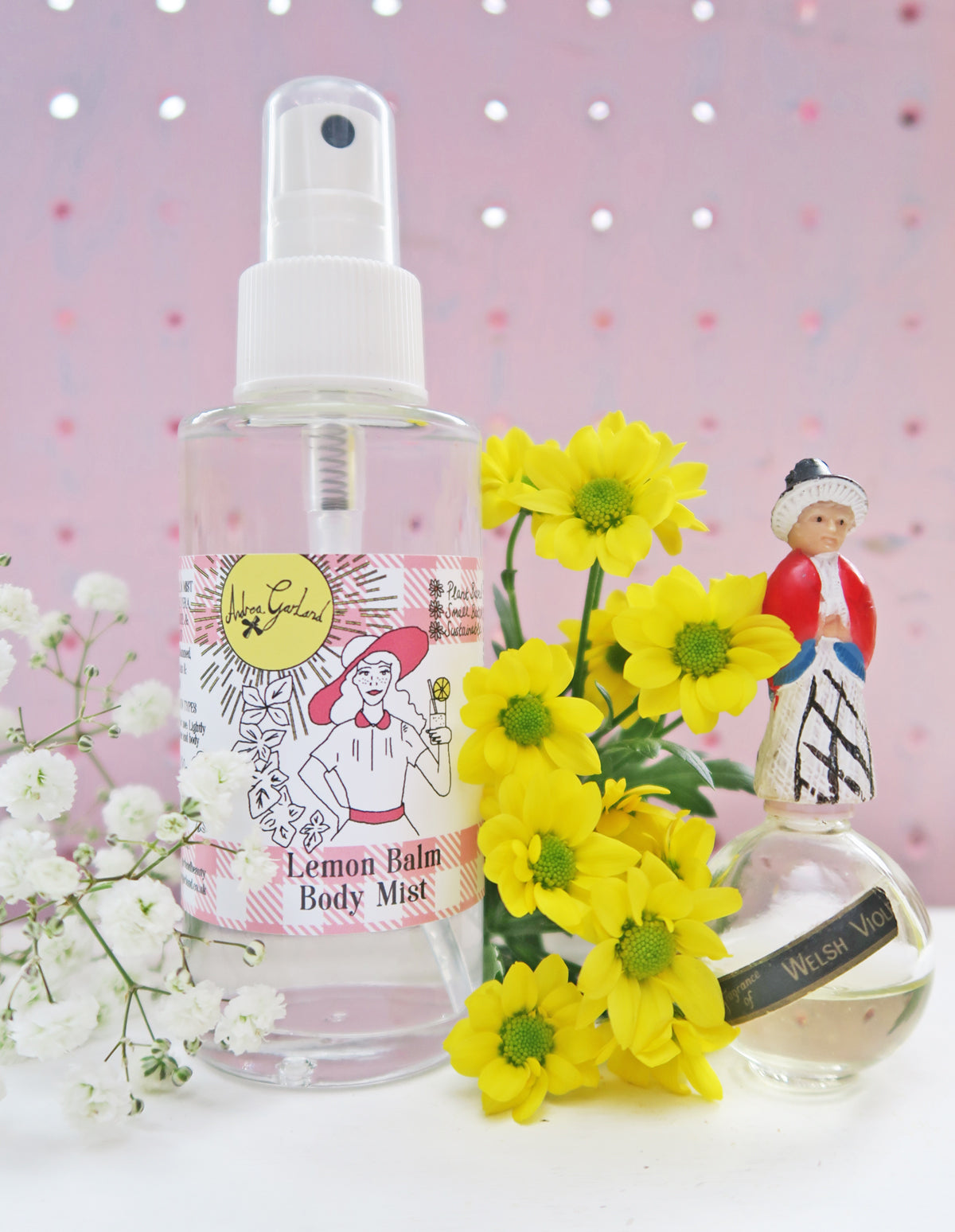 Lemon Balm Body Mist - Andrea Garland