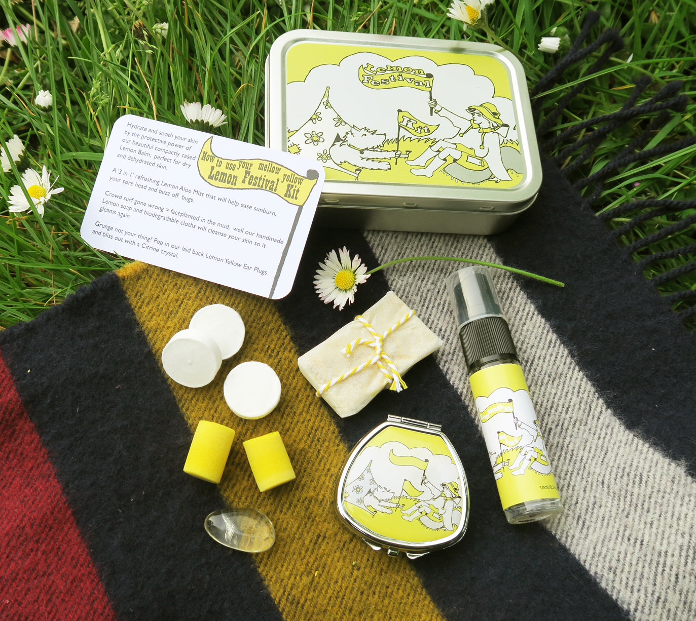 Kits in Tins - Lemon Balm Festival Kit - Andrea Garland