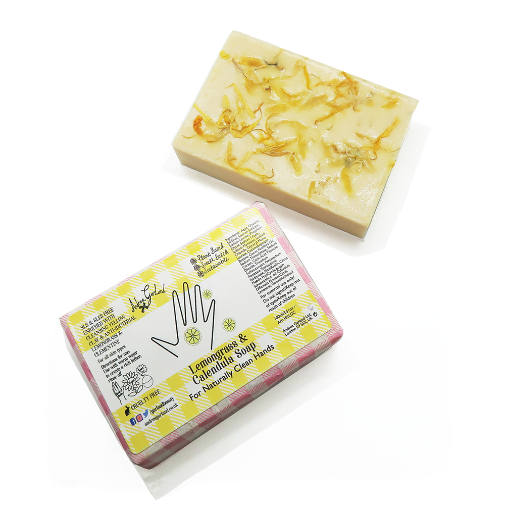 Lemongrass and Calendula Soap - Andrea Garland