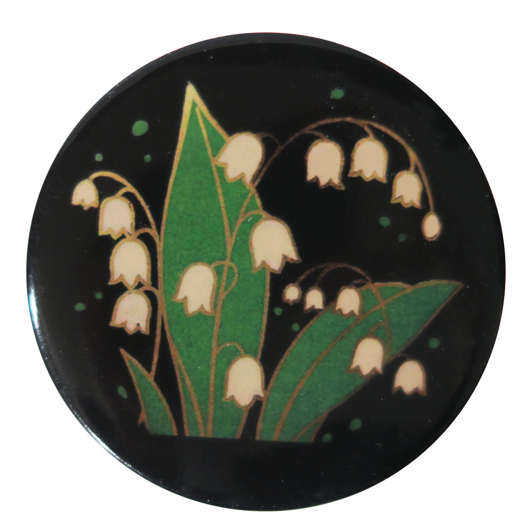 Lily of the Valley Pocket Mirror - Andrea Garland
