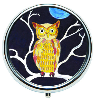Lip Balm Compacts - Folk Midnight Owl