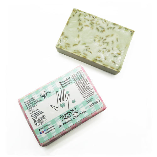 Peppermint and Fennel Soap