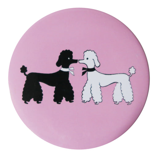 Poodles Pocket Mirror