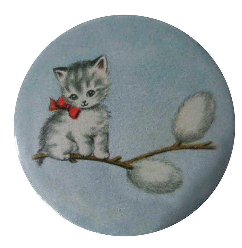 Pussywillow Kitty Pocket Mirror - Andrea Garland