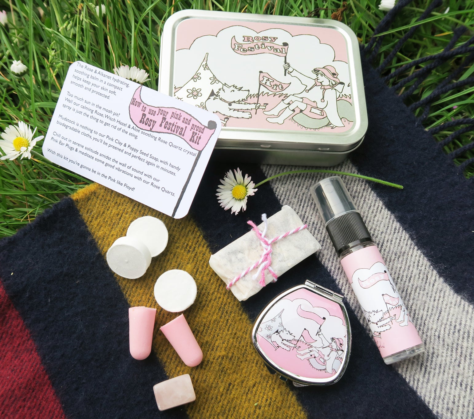 Kits in Tins - Rosy Festival Kit - Andrea Garland