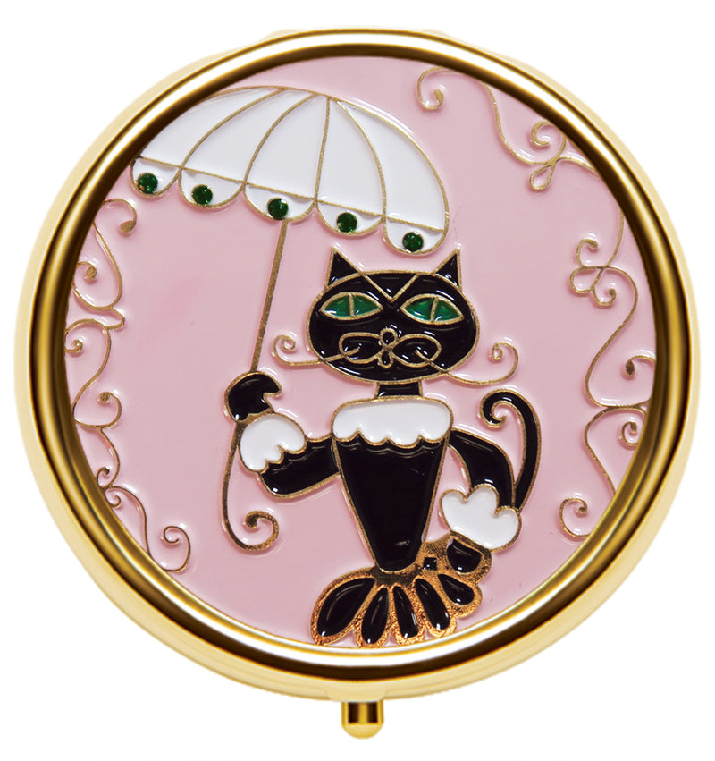 Shakespeare's Cat - Enamel Lip Balm Compact - Andrea Garland