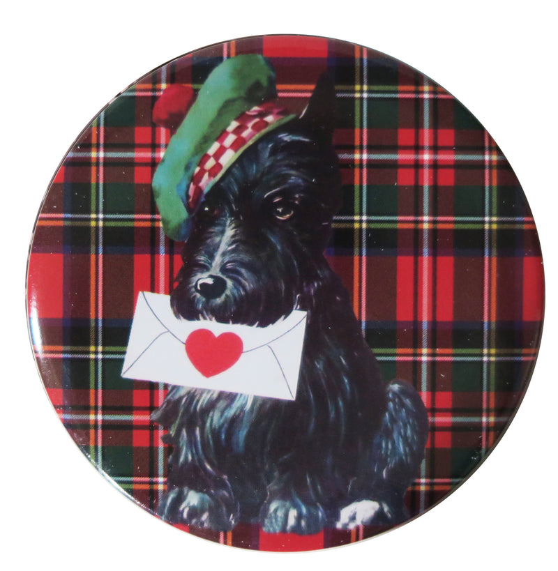 Tartan Terrier Pocket Mirror - Andrea Garland