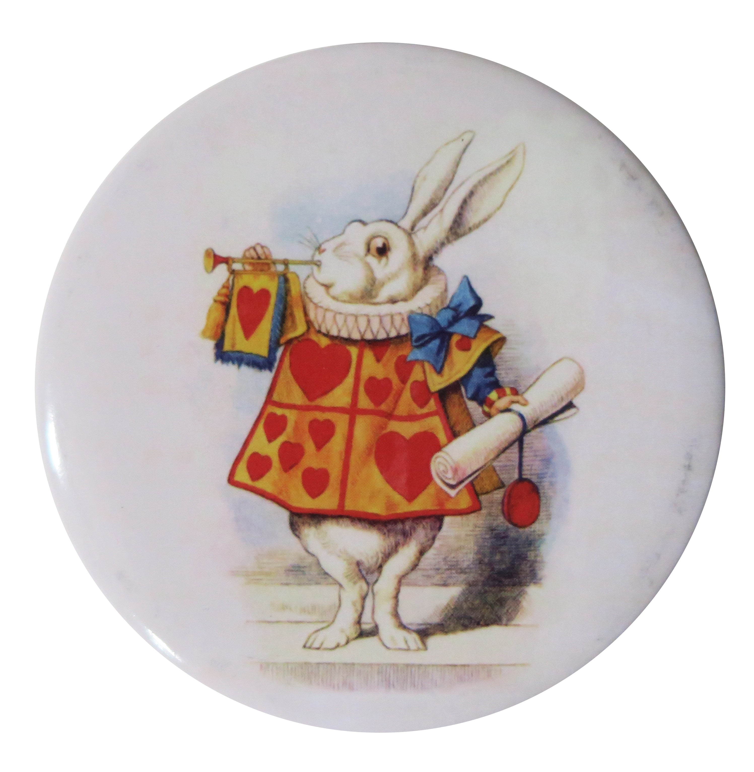 White Rabbit Pocket Mirror - Andrea Garland