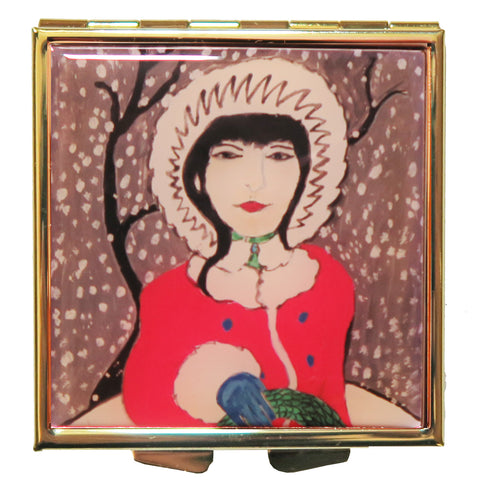 'Winter' compact full of Honeysuckle Beauty Balm