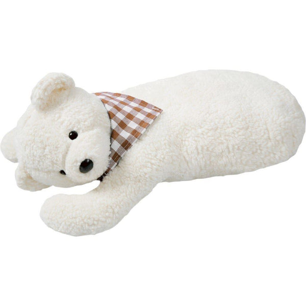 organic hot water bottle bear