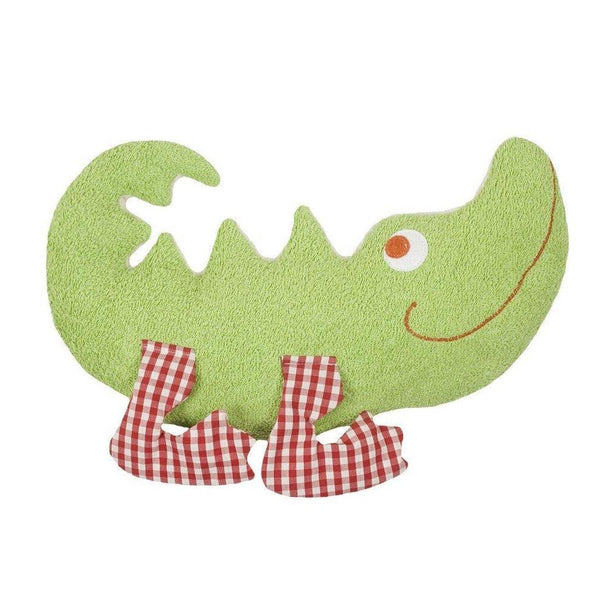 organic cotton & wool crocodile