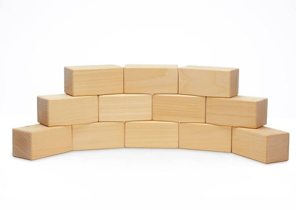 Ocamora 12 rectangular prisms, natural