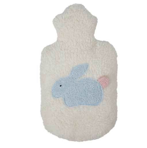 organic bunny child's hot water bottle