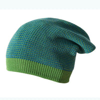 Disana long beanie knit wool cap