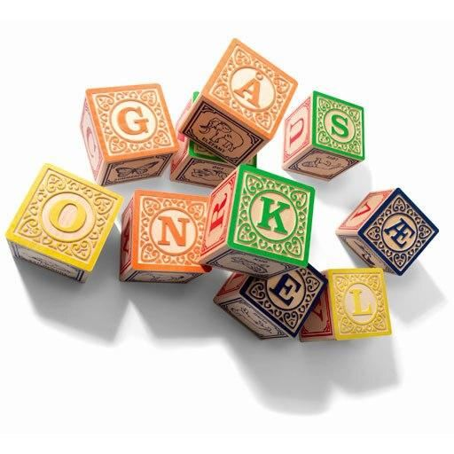 danish alphabet blocks
