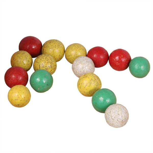 bag of 50 clay marbles