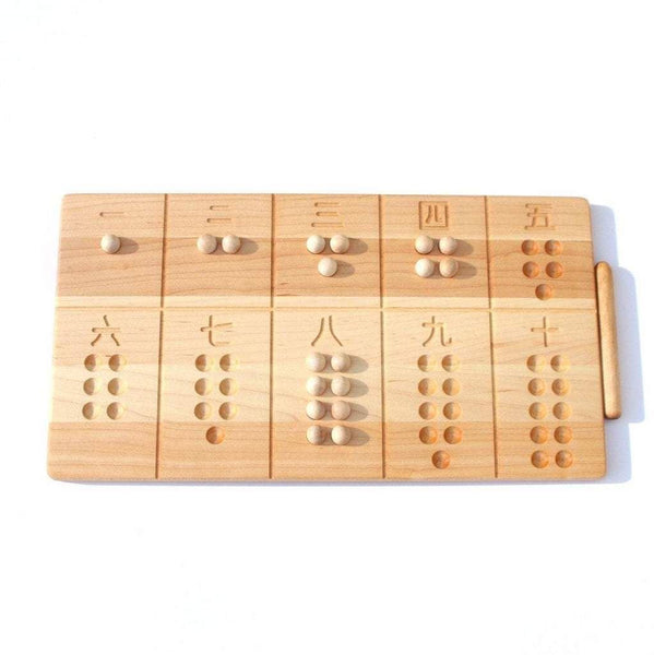 chinese reversible 1-10 board