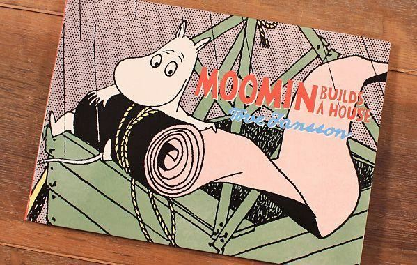 Moomin Builds a House comic book