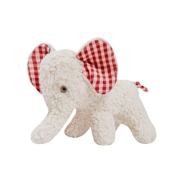 organic cotton & wool cuddly elephant