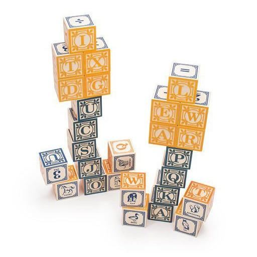 dutch alphabet blocks (special order)
