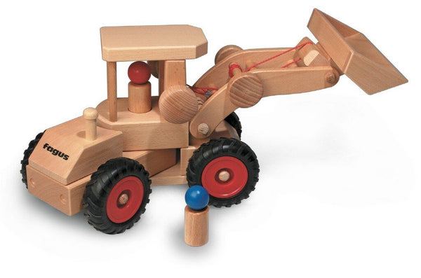 Fagus wheel front end loader
