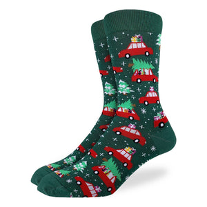Christmas Trees Socks
