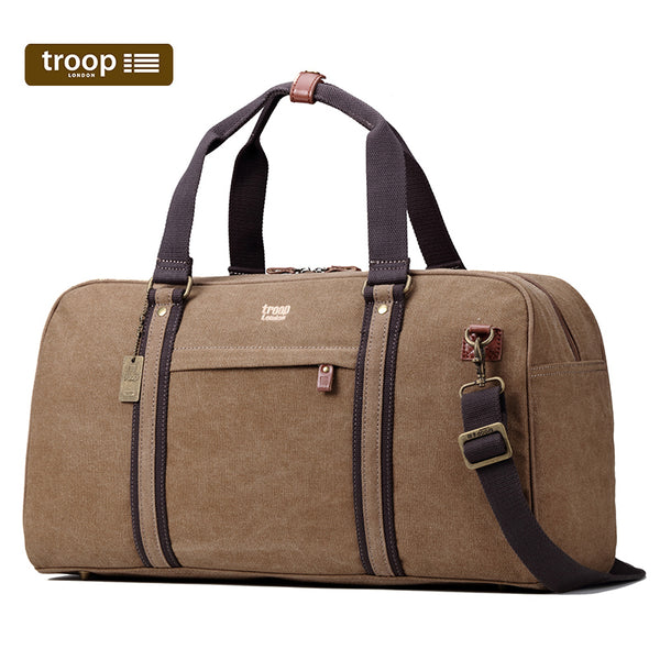 Troop London Classic Canvas Travel Duffel Bag