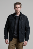 Water Resistant Field Coat in Black