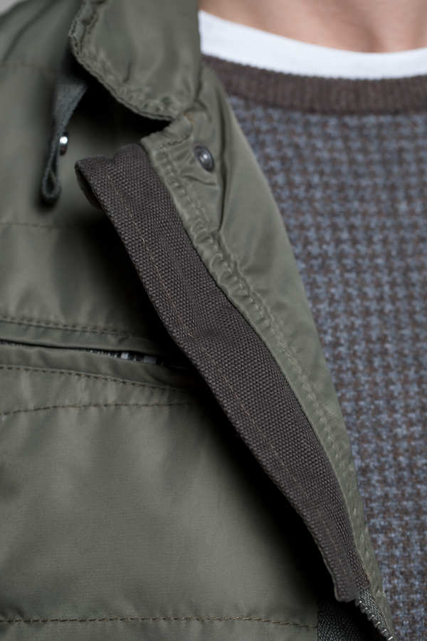 Water Resistant Field Coat in Dark Khaki