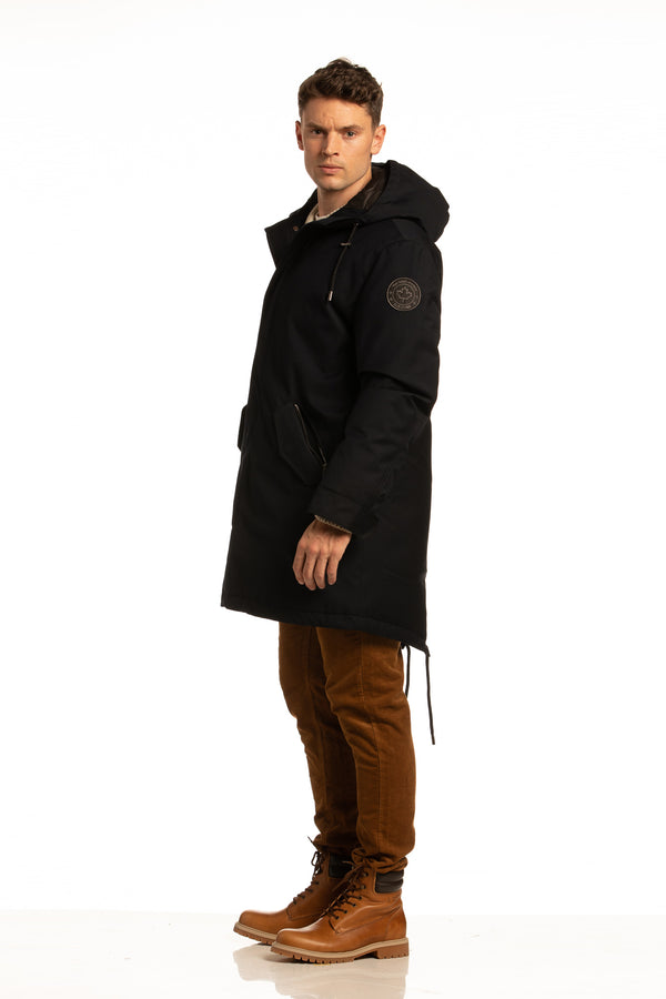 "Sustainable ""Sub Zero"" Winter Parka in Navy"