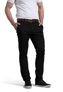 Michael Stretch Pant in Black