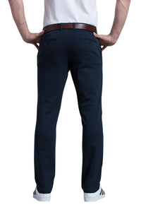 Michael Stretch Pant in Midnight Blue