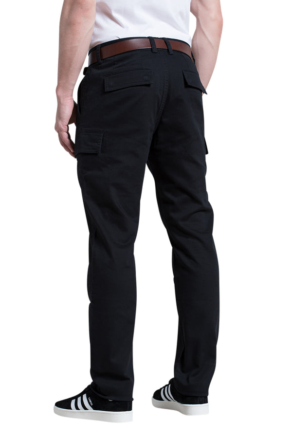 Cody Cargo Pant in Black