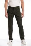 Dylan 5 Pocket Pant in Forest Green
