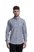 Antrim Stretch Oxford Shirt in Dark Slate Grey