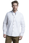 Antrim Stretch-Oxford Shirt in White