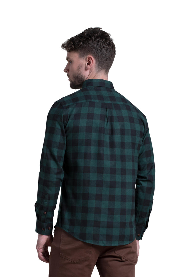 Clonmel Shirt in Forest Black