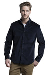 Clifden Heavy Stretch Corduroy in Navy