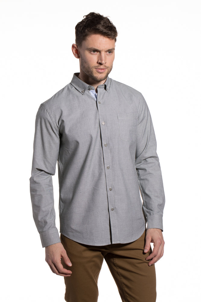 End-on-End Kells Shirt in Sage Green