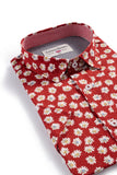 London Prodigy Floral Shirt in Red