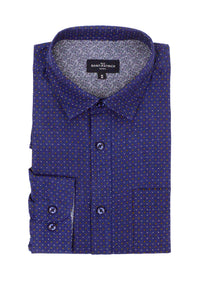 Tollymore Oxford Shirt in Navy