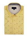 Kerry Short Sleeve Shirt in Sunrise Yellow