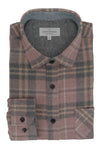 Ballyhornan Flannel Shirt in Pink