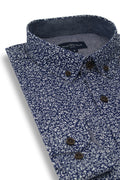 Baltimore Poplin Shirt in Navy