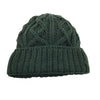 Made in Ireland Cable Knit Toque - Green