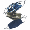 Essential Face Mask 3-Pack Blue Camo