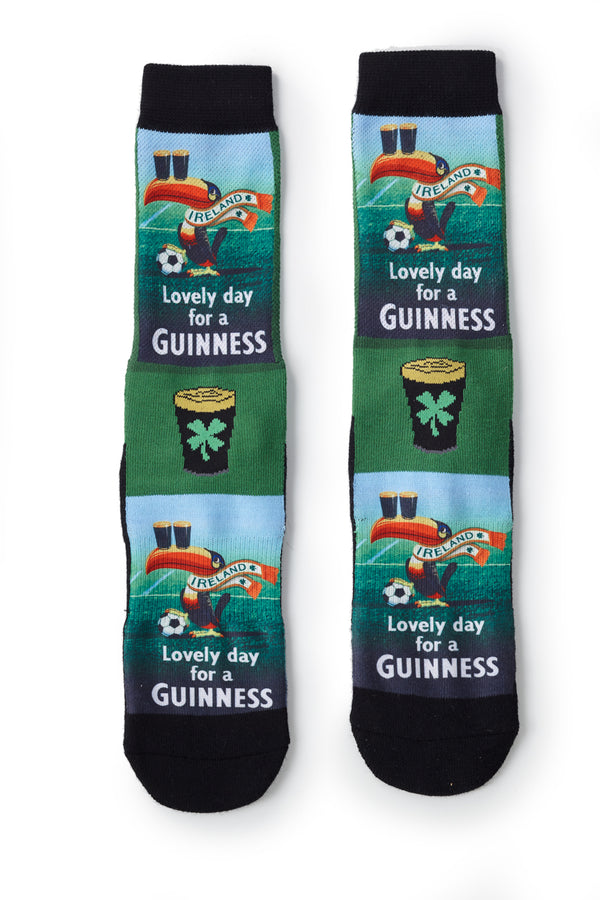 Lovely Day for a Guinness Socks