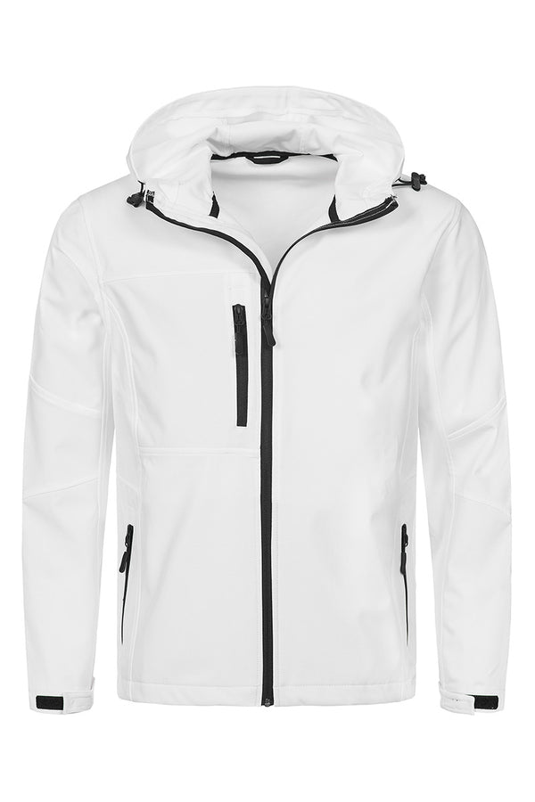 Active Softest Shell Hooded Jacket - White