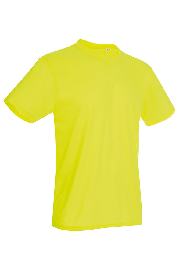 Active-Dry Crewneck T-shirt - Yellow