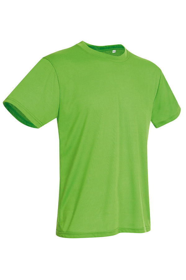 Active-Dry Crewneck T-shirt - Kiwi Green